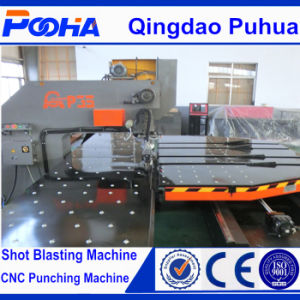 Platform Steel Plate Hole CNC Punching Machine pictures & photos