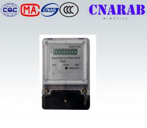 LCD Display Single Phase Watt Hour Meter Ingelec Brand pictures & photos