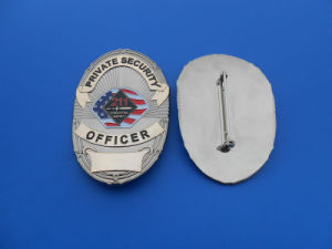 Custom Metal Police Badge (ASNYB-202) pictures & photos