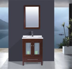 Solid Wood Bathroom Cabinet (B-285) pictures & photos
