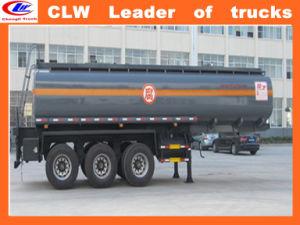Three Axles 50cbm Fuel Tanker Semi Trailer 50000 Liters pictures & photos