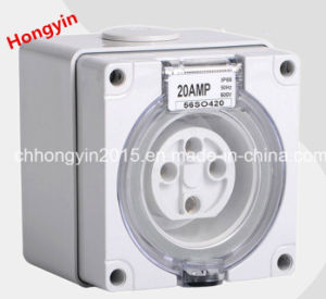 2015 4pin European Waterproof Industrial Socket Industrial Plug and Socket pictures & photos