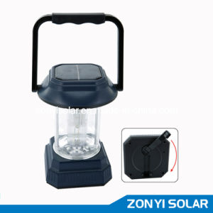 ZY-T92 solar camping light(solar+Hand crank) pictures & photos