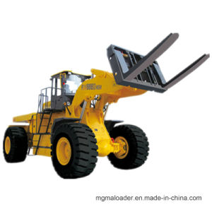 Mgm988II Rear-Steering and Anti-Rollover Design 36t Front End Loader for Block with Cummings Engine with CE Forklift Loader