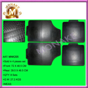 Auto Accessories, Promotion Rubber Floor Mat for Truck/Car (MNK205) pictures & photos