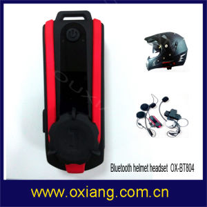 Mini Motorcycle Helmet Bluetooth Interphone Headset Ox-Bt804 pictures & photos