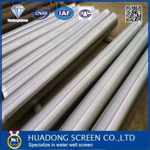 Stainless Steel Od 8inch Slot 0.75mm Johnson Water Well Screen / Johnson Type Wedge Wire Screen pictures & photos