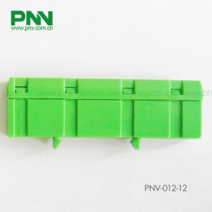 Dinrail Mounting Earthing Terminal Box 12ways 6*9mm Green