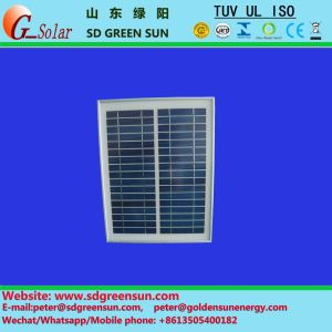 18V 10W Poly Solar Cell Panel for 12V System (2017) pictures & photos