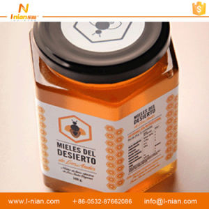 Customized Printed Waterproof Plastic Honey Bottle Label pictures & photos