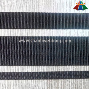 Best Price Black Flat PP/ Polypropylene Webbing Strap pictures & photos