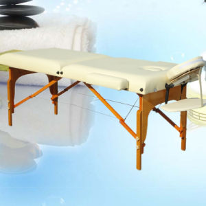Wooden Massage Table (WMT1118) pictures & photos