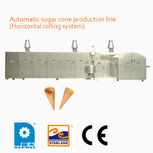 Automatic Sugar Cone Production Line (Horizontal rolling system) pictures & photos