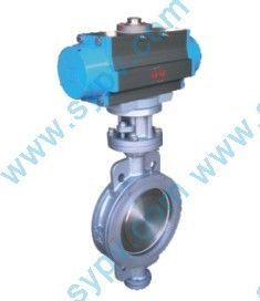 Wafer PTFE Reinforce Seal Butterfly Valves