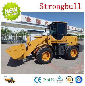 Multifunctional Small Wheel Loader Zl18 1.2t Lift 3t Total Weight Forklift 4X4 Drive Wheel Loader for Sale pictures & photos