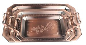 Breakfast Serving Tray Made of Bronze pictures & photos