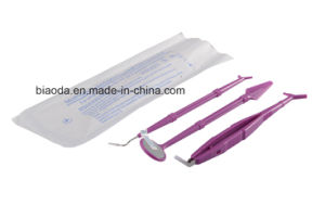 China Dental Supplier Ce Approved Sterile Disposable Examination Kit 10 in 1 pictures & photos