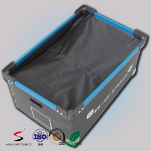 Waterproof Antistatic Corrugated Plastic Tote with Divider pictures & photos