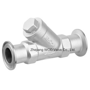 Sanitary Clamp Y Type Strainer pictures & photos