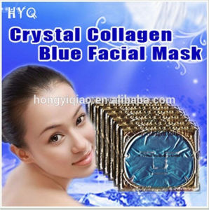 Top Sale Gold Bio-Collagen Facial Mask Crystal Collagen Blue Facial Mask Moisturizing Whitening Facial Mask pictures & photos