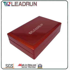 Leather Coin Collection Case Gift Box Wooden Cash Box Souvenir Commemorative Coin Box (G10) pictures & photos
