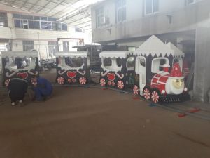 Children Amusement Park Equipment Electric Train Rider Christmas Electric Train pictures & photos