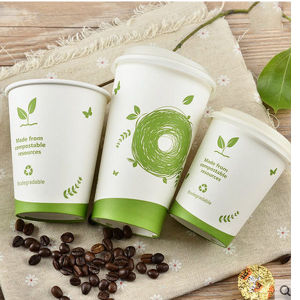 China Wholesale Paper Cups with Lids Reusable Coffee Cups Disposable Paper Cups pictures & photos