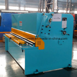 Swing Beam Type Hydraulic Shearing Machine pictures & photos