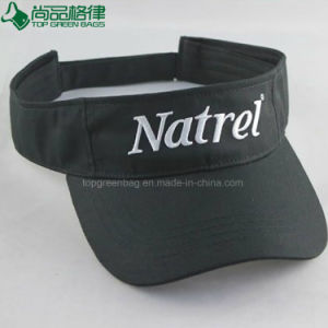 Custom Logo Embroidery Sun Polyester Cotton Cap Visor Hat Sun Hat pictures & photos