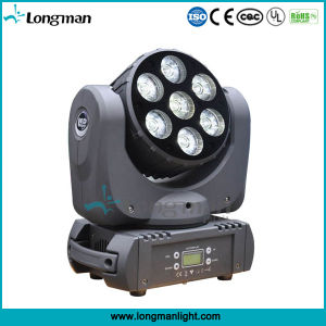 7*15W RGBW 4-in-1IP20 Moving Head Lights LED Stage pictures & photos