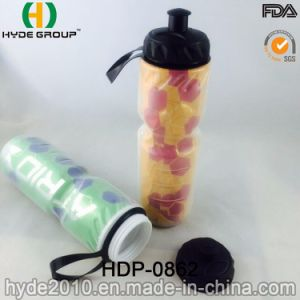 650ml Portable BPA Free Plastic Gym Sport Water Bottle (HDP-0862) pictures & photos
