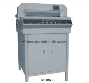 Electric Paper Cutting Machine (GT-450V+) pictures & photos