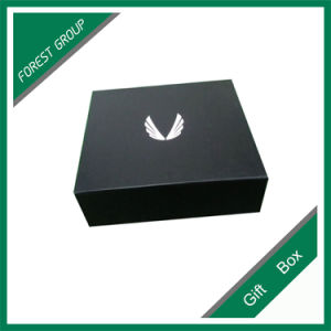 Two Piece Paper Gift Box with Black Foam pictures & photos