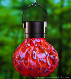 Weather Glass Solar Lava Lantern pictures & photos