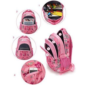 Sublimation Printing Girls School Student Book Backpack pictures & photos