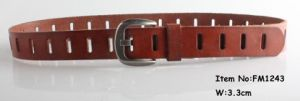 2018 New Fashion Women Genuine Leather Belts (FM1243) pictures & photos