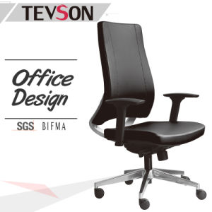 Office Ergonomic Executive Aluminium Base Swivel Leather Chair (DHS-B220) pictures & photos
