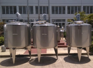 Heating Tank Gas Heating Tank LPG Heating Tank Jacketed Tank pictures & photos