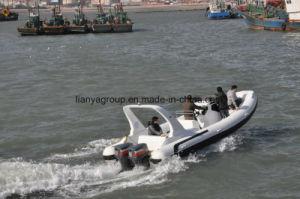 Liya 25FT Fiberglass Boat Dinghy Large Rib Yatch pictures & photos
