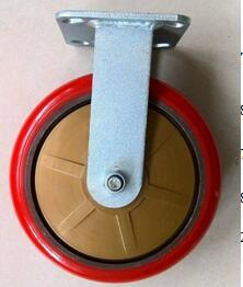 Heavy Duty Swivel PU on Cast Iron Caster pictures & photos