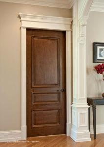Bushfire Proof Solid Oak Wood Interior Doors for Internal Homes pictures & photos