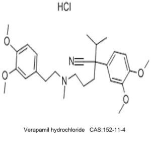 Analgesic / Antipyretic Drug Verapamil HCl CAS: 152-11-4 Anti-Hypertension pictures & photos