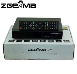4k Uhd Ultra CPU TV Box Zgemma H7s Multistream Dual Core Hevc/H. 265 2*DVB-S2/S2X + DVB-T2/C Three Tuners Combo Receiver pictures & photos