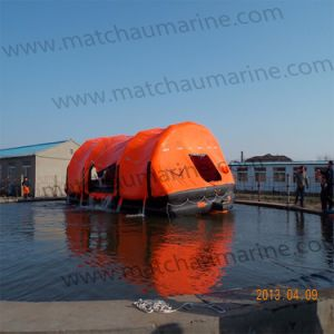 Solas Throw-Overboard Type Inflatable Life Raft pictures & photos