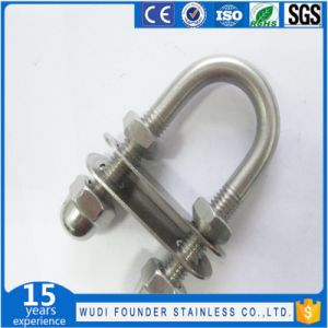 Stainless Steel SS304 or SS316 Washer and Nuts U Bolt pictures & photos