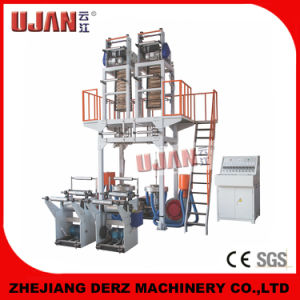 Double Die Head Extruder Blowing Film Machine pictures & photos