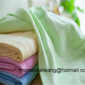 Multi Colours of Bamboo/Cotton Bath Towels with Dobby Border pictures & photos