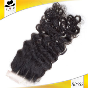100 Percent3.5*4 Brazilian Lace Closure with Virgin Hair pictures & photos
