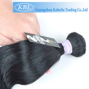 Kbl New Jet Black Brazilian Human Hair pictures & photos
