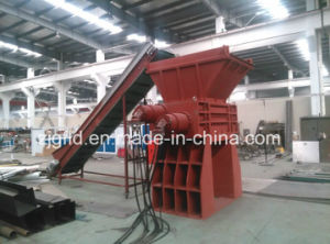 Double-Shaft Recycled Plastic Shredder Machine pictures & photos